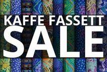Kaffe Fassett Fabrics •SALE• / Shop Kaffe Fassett Sale Fabrics!  Hurry, these fabrics don't last long. / by Hancock's of Paducah