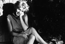 """I Marilyn Monroe I / """"She stood for life. She radiated life. In her smile hope was always present. She glorified in life, and her death did not mar this final image. She had become a legend in her own time, and in her death, took her place among the myths of our century."""" I John Kobal  / by Saša"""
