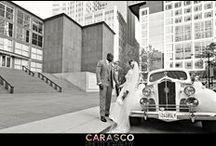 MCA Wedding with Bride in Berta / Bride in beautiful Berta gown  Photography: Carasco Photography