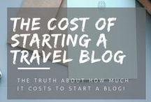 Travel Blogging - Monetization / How to monetise your blog, how to earn money from your blog, earn a living from blogging, how to make money travel blogging.