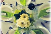 TABLE DECOR / All you need to decor your table in special occasions such as centrepieces, placecards and so on!