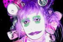 STYLE: Clown Punk / Vomiting Bright Colors