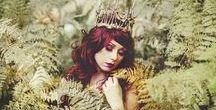 Queen of autumn... / queen, autumn, królowa, lasu, jesieni, jesień, beauty, paprocie