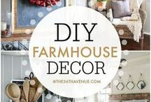 Farmhouse Decor/Design / Farmhouse Design Decor