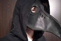 The mask of doctor plague