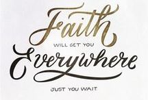 God Stuff: Quotes and Ideas about Faith / by Myah Gary