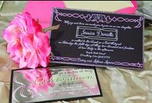 Custom Invitations by Sparkle and Ink / Custom invitations created to send exactly the message that clients desire.  Be Creative. Be Inspired. Sparkle Every Day!