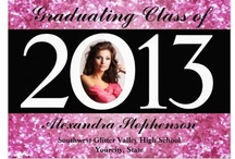 "Graduation Gear Class of 2013 / ↙Please click the ""CuteNComfy"" Icon below to get to the Class of 2015 Board. Gifts, Apparel and Keepsakes for the senior class, back to school, the graduation ceremony, senior class and guests and family.  Custom Personalized photo graduation announcements and festive party invitations."