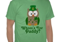 Cute and Funny St. Patrick's Day T-shirts and Gifts / Get your Green on this Saint Patty's Day with an awesome and trendy t-shirt, women's shirt, or other great gift to wear. Check back often for the latest styles and designs.