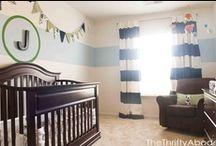 Baby: Nursery Decor / Nursery ideas. boy nursery. blue nursery. gray nursery. carousel designs. bunting. So many ideas. Good thing for Nesting. / by Tawny Vena