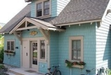 Coastal Cottage Chic / Shades of Seafoam & Robin's Egg Blue Cottage Decor and Ideas / by Linda Smith