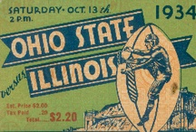 Ohio State Football Tickets / Best Cyber Monday Deals 2012! Ohio State football tickets from the 47 STRAIGHT COLLECTION™ of the greatest football tickets in college football history. Best Cyber Monday Ohio State gifts. Best Black Friday Ohio State gifts. Ohio State gifts made from authentic vintage tickets. Best Black Friday Deals 2012! BEST Ohio State football gifts. / by Row One Brand