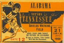 SEC Football / SEC Father's Day gifts. SEC football gifts. SEC football gift ideas. Father's Day gifts for SEC football fans. College football gifts made from authentic vintage SEC football tickets. Best Father's Day gifts 2013! SEC football photos. SEC football news. / by Row One Brand