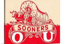 Oklahoma football gifts / Oklahoma Sooners Football Gifts! Oklahoma football gifts made from authentic historic OU Sooner football tickets. OU Sooners Father's Day Gifts. Oklahoma Sooners football memorabilia.  47 STRAIGHT.™ Vintage sports art made from over 2,400 vintage sports tickets. / by Row One Brand