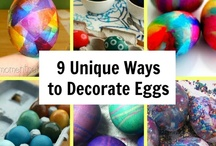 EASTER / Fun easter crafts with the kids