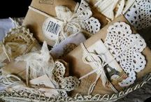 Packaging, Gift Wrapping / Beautiful ways to wrap and decorate your gifts and packages