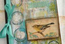 Art Journals and Glue Books / Art Journaling Love