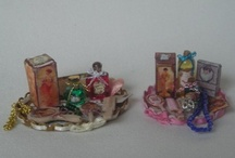 """""""Sold"""" / Dolls House Miniatures I made."""