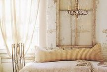 Home decor: Romantic Home / #Cozy #Shabby Chic #Shabby French #Country Living #French Country - everything that says #HOME to me