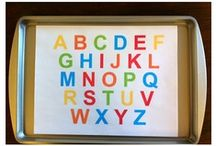 ALPHABET / Fun tips on how to teach your little ones all about the alphabet!