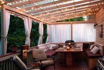 Home: Landscaping / landscaping. fun yard ideas. back yard. backyard lighting.  / by Tawny Vena