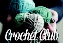 Crochet Club #1 Projects / 10 week Crochet Club - ten projects where you'll learn new stitches, the latest techniques and meet a group of fellow crafters.   Check out Crochet Club on our timetable at www.threadden.com