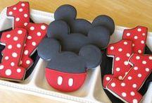 Jacksons 1st Birthday / Mickey Mouse. Hot Diggety Dog. 1st birthday. Boy Birthday. Spoiled kids. / by Tawny Vena
