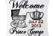 Prince George of Cambridge / Prince George of Cambridge (George Alexander Louis) was born on 22 July 2013, son of Prince William, Duke of Cambridge, and his wife Catherine, Duchess of Cambridge. The Royal Baby has arrived! Follow this board or photos, pictures, keepsake gifts and merchandise and more!
