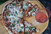 Pizza & Wine / Homemade pizza recipes and wine pairing tips, for a dinner at home with the family, or casual entertaining.
