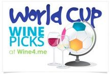 World Cup / The World Cup & Wine! A collection of party ideas and recipes that would be perfect for hosting World Cup Viewing Parties.