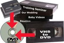 VIDEO TRANSFER SERVICE / Let us digitize your all videotapes; 8/16MM Cine reels to the latest digitial formats for you to share with friends and family for generations to come. Visit our website: http://www.jaydees.co.za/