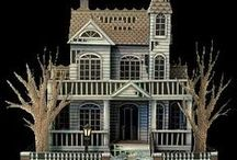 Haunted Doll Houses / Spooky Occupants, Accessories and Furnishings