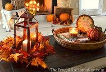 Fall / All things Fall - decorating, crafts, DIY projects, and recipes!