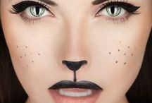 Halloween Ideas / halloween. haloween make up ideas. halloween outfit. easy halloween. creative make up. dress up. / by Tawny Vena Younique Presenter