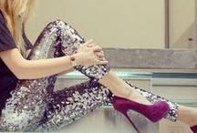 Style: Holiday / Holiday Parties. Holiday Pictures. Sparkle. Shine. Glitter and gold. Glam squad. High heels. / by Tawny Vena
