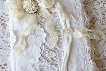 Fabric books ♥ luscious fabrics and laces