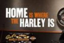 Home is where the Harley is... / Everything Harley-Davidson you need to kick the boring out of any situation.
