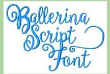 Machine Embroidery Fonts / Machine Embroidery Fonts Available at  www.blingsasssparkle.com