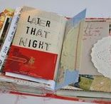 Remains of the day / ROD and junk journals, pages, collages