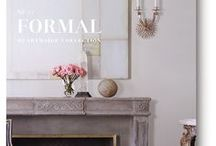2018 Formal Mantel Catalog / THE FORMAL COLLECTION | Taking inspiration from the drawing rooms and salons of Paris, London, or Rome in the 18th and 19th centuries, formal style is a portal to a more romantic era. View our Formal Mantel Collection in our new 2018 catalog! francoisandco.com/catalogs/formal-mantels/