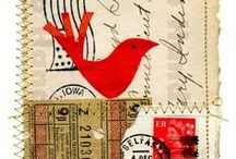 ART...MAIL-art / Artistic Snail Mail, mail art, envelopes
