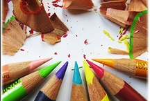 SCHOOL...Arts and Crafts for School / CRAFTINESS, art and crafts for school, school art, kindergarten art ideas