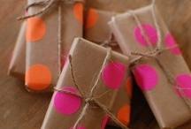 {Gifts} Wrapping & Giving / by Manda Cruse