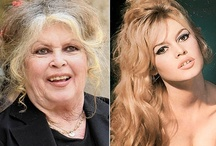 Then...and Now / Photos of celebrities back in the day, and now.  How life has changed their appearance through the years - sometimes naturally, and sometimes by their own doings (plastic surgery).  Some improved, and then, some messed up really bad.   / by Dawn Rimmer