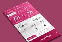 iPad x iPhone UI Design