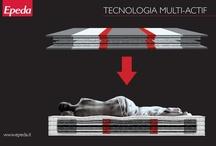 La Tecnologia Multi-Actif / Epeda presenta una nuova generazione di materassi a molle, per un riposo sano e rigenerante ad ogni età a prescindere dalla corporatura e dallo stile di vita, per chi dorme solo oppure in coppia.