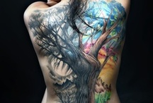 Tattoos. / Tattoos reveal so many things from creativity to a past only you may know of. / by Sierra Evans