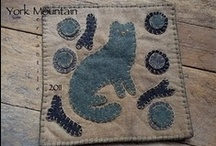 Needlework - Wool:  Applique