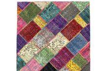 El Dokuma & Örgü Halılar / Yaza özel el dokuması ve örgü halı modelleri Altıncı Cadde'de.
