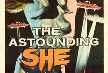 Vintage Sci-Fi & Fantasy Movie Posters